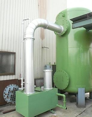蒸気洗浄凝縮装置